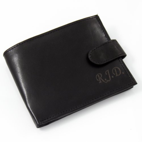 Personalised Gents Leather Wallet- Ideal Birthday gift