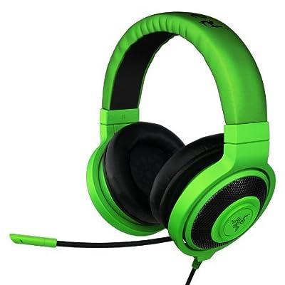 Razer Kraken PRO Over Ear PC and Music Headset - Green - Manufacturer Refurbished