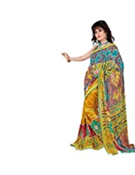 Triveni Fantastic Casual Saree With Unstitch Blouse - 7025