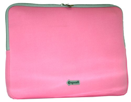 "Laptop Sleeve with Zipped Pocket 13.3"" Pink"