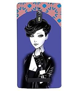 Fuson 3D Printed Girly Designer back case cover for Oppo Find 7 - D4178