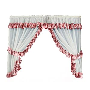red gingham curtains curtains blinds