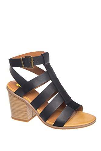 Munchkin Mid Heel Caged Sandal