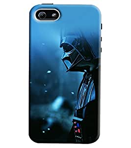 Blue Throat Man In Mask Printed Designer Back Cover/ Case For Apple iPhone 5s