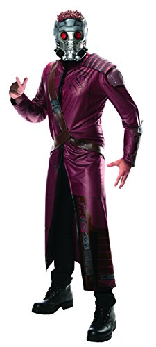 Rubie's Costume Men's Marvel Universe Guardians Of The Galaxy Deluxe Starlord Costume