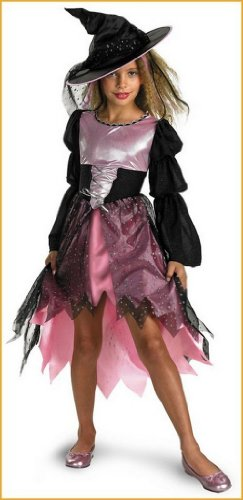 Kids Witch Costumes Sassy Halloween Witch