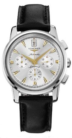 LONGINES Watch:Longines Watches Longines Heritage Collection Conquest Automatic Chronograph Men's Watch Images