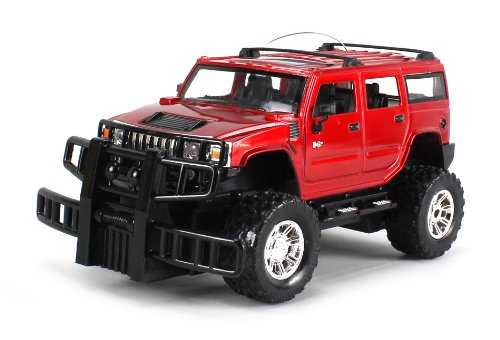 Licensed Hummer H2 Electric Rc Truck Gk Series 1:24 Scale Ready To Run Rtr W/ Working Head And Tail Lights (Colors May Vary)