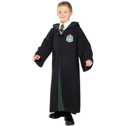 New Halloween Costumes Harry Potter Slytherin Costume S Boys Small (3-4 years)