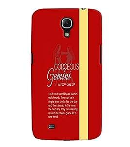 Fuson Premium Gorgeous Gemini Printed Hard Plastic Back Case Cover for Samsung Galaxy Mega 6.3 i9200