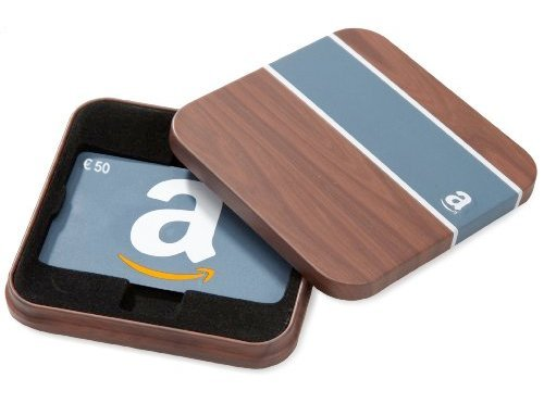 Buono Regalo Amazon.it - €50 (Cofanetto Legno)