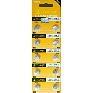 50x AG3 392A LR41 392 SR41 192 Button Cell Battery