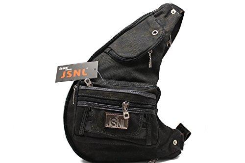 black-brown-multi-purpose-tactical-sling-canvas-cross-bodychest-bag-gun-pouch-black