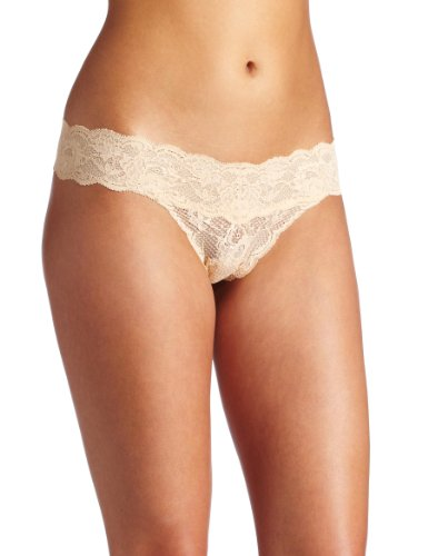 Cosabella Women's Never Say Never Bootie Thong Panty, Blush, One Size