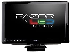 VIZIO M160MV 16-Inch LED LCD HDTV with Razor LED Backlighting, Black