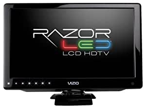 VIZIO M160MV 16-Inch LED LCD HDTV with Razor LED Backlighting, Black
