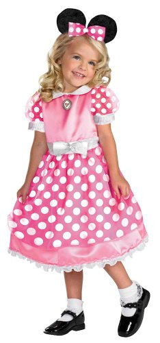 Disguise Toddler Pink Clubhouse Minnie Mouse Kids Costume