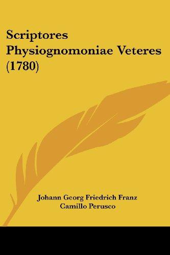 Scriptores Physiognomoniae Veteres (1780)