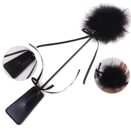 41vUYAtvyyL. SL500  BEST CASE New Sex Fashion Flirt Funny Feathers Clap Sex Slaves Sexy Toys Flirting Pat for Lovers/couple