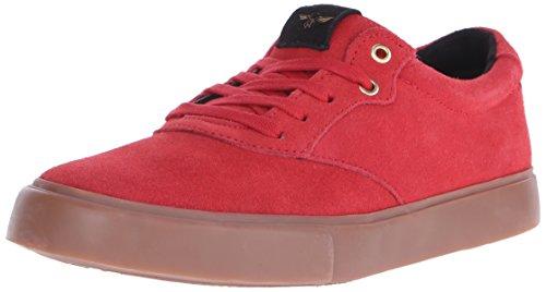 Creative Recreation Men's Prio Fashion Sneaker, Red Gum, 9 M US