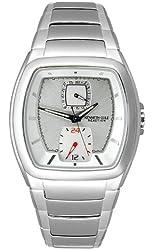 Kenneth Cole Men's KC3686 Reaction Silver-Tone Bracelet Watch