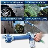 Moradiya Fresh Ez Jet Water Cannon 8 In 1 Turbo Water Spray Gun For Gardening, Car Wash, Home Cleaning