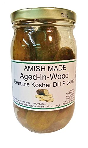 Kosher Aged-In-Wood Dill Pickles 2-16oz. Jars (Jar Of Dill Pickles compare prices)