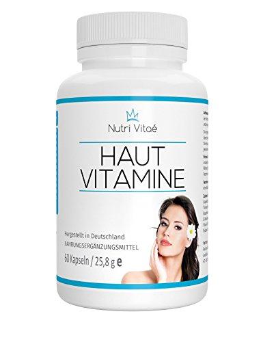 nutri vitae haut vitamine kapseln f r eine sch ne haut biotin opc vitamin b2 vitamin a und. Black Bedroom Furniture Sets. Home Design Ideas