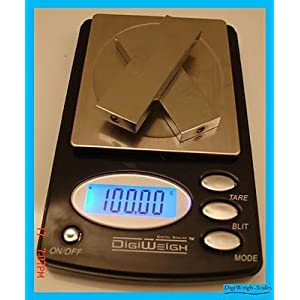 100/0.01g Digital Pocket Scale Gram, Ounce, Carat, Grain