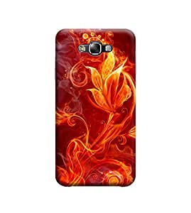 Ebby Premium Printed Back Case Cover With Full protection For Samsung Galaxy E5 (Designer Case)