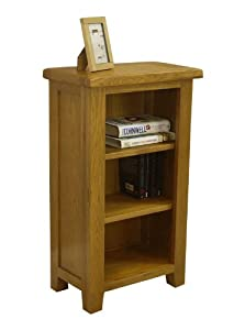 Tucan Rustic Oak Small Bookcase Bookshelf Shelving