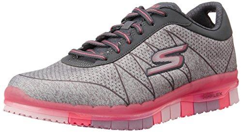 Skechers (SKEES) - Go Flex - Ability, Scarpa Tecnica da donna, grigio (gyhp), 37