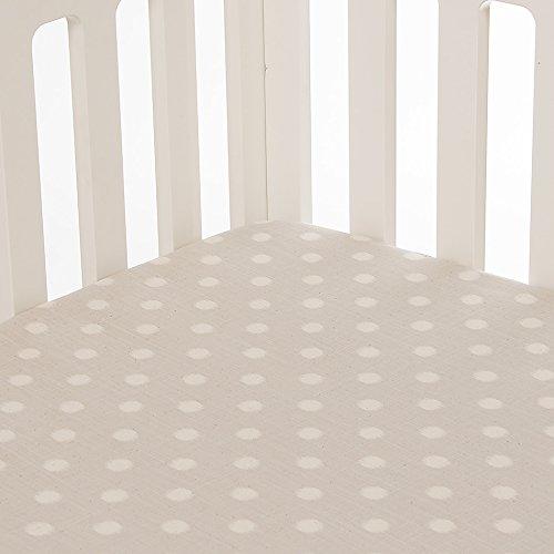 Glenna Jean Contessa Fitted Sheet, Grey Dot