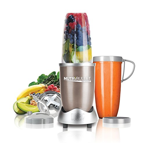 NutriBullet PRO Blender/Mixer, 9-piece Set (Certified Refurbished) (Refurbished Small Appliances compare prices)