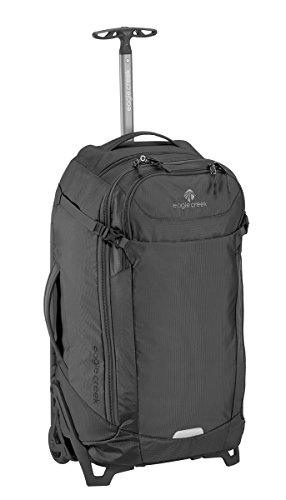 Eagle Creek EC Lync System 26 Convertible Luggage Suitcases with In-Line Wheels, Black, One Size
