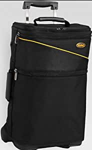 SkyRoll Carry-On Suitcase with Wrap-Around Garmet Bag on Wheels
