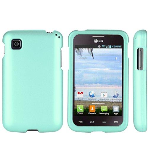Spots8® LG Optimus Dynamic II L39C Slim fit Case - Mint (Lg Optimus Dynamic Ii Covers compare prices)