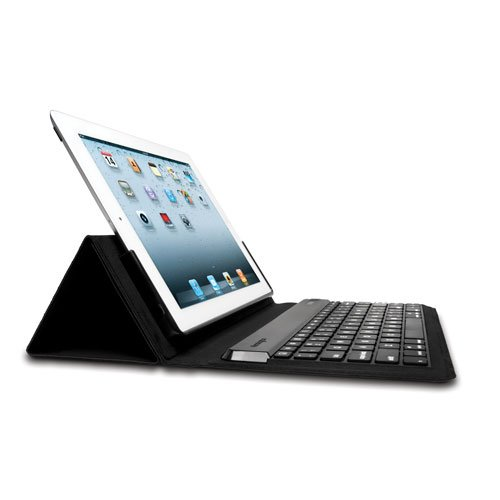 Kensington KeyFolio Expert Multi-Angle Folio and Bluetooth Keyboard Case for New iPad (K39531US)