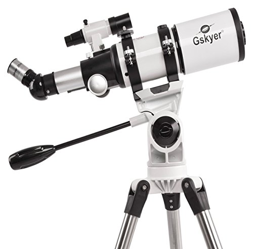 Gskyer Space Astronomical 400x80mm Dual-speed Slow Motion Refractor Telescope