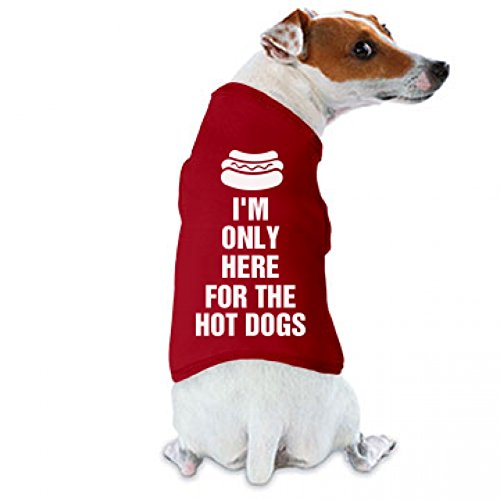 July 4th Hot Dog: Doggie Skins Dog Tank Top
