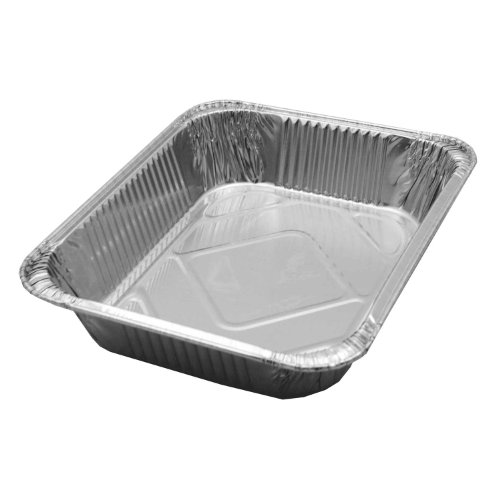 Party Essentials F10793 Heavy Duty Half Size Deep Foil Steam Table Pan (Case of 100)