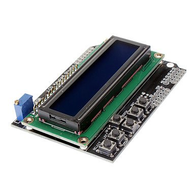 Zcl Arduino Character Lcd 1602 Module I/O Expansion Board Lcd Keypad Shield