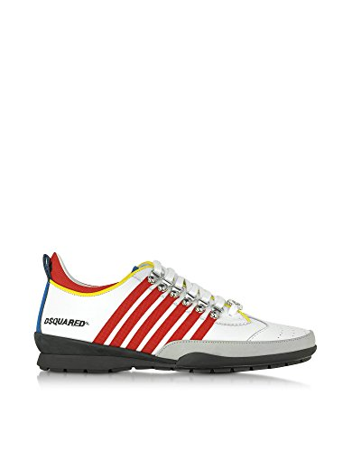DSQUARED2 HERREN W16SN131912M244 MULTICOLOUR LEDER SNEAKERS thumbnail