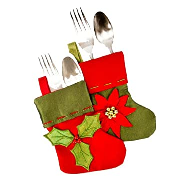 Christmas Silverware Holder