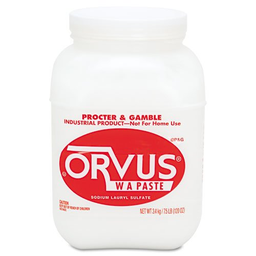 Procter & Gamble Products - Procter & Gamble - Orvus W A Paste, 7.5 lb. Bottle, 4/Carton - Sold As 1 Carton - Extremely gentle detergent used to clean cattle and horses. - Can be used to clean fine rugs. - Nonirritating. - Will not discolor dyes. -