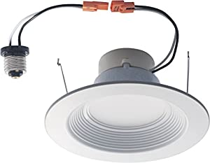 """VOID LED Lighting HR6-2700K 15W 1100 lm Dimmable Retrofit LED Recessed Lighting Fixture, 6"""", Warm White"""