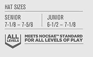 Casco Easton Junior Z5 para bateadores,color negro
