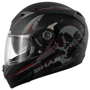 HE0432EKRSS - Shark S700-S Naka Mat Motorcycle Helmet S Black (KRS)