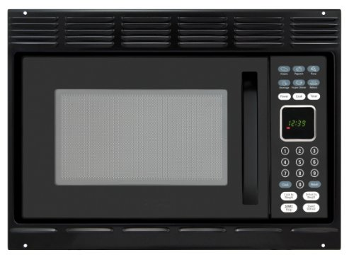 Advent MW912BK Black Built-in Microwave Oven, 0.9 cu.ft. capacity, 900 watts of cooking power and 10 adjustable power levels let you boil, reheat, defrost and more, with Trim Kit