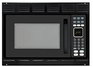 Advent MW912BK Black Built-in Microwave Oven 0.9 cu.ft. capacity 900 watts of cooking power and 10 adjustable power levels let you boil reheat defrost and more with Trim Kit